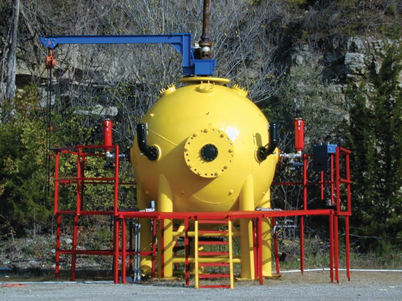 10m3爆発試験容器