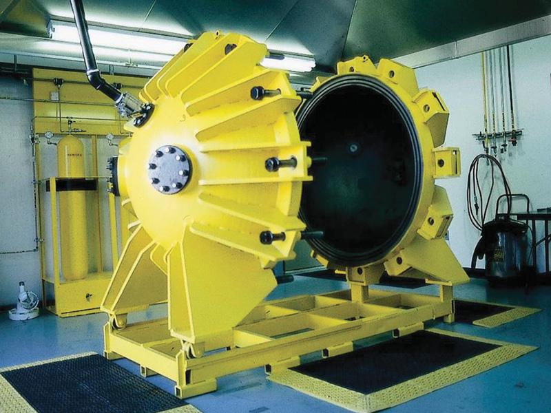 1m3爆発強度測定試験容器