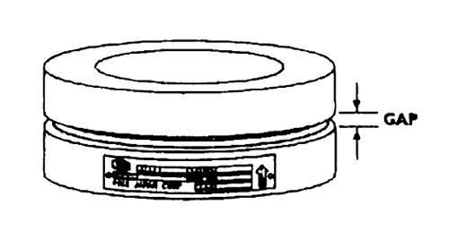 ホルダー間の隙間(GAP)部分